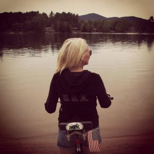 Betty, placid on MIrror Lake in Lake Placid, New York, the place where miracles happen and the American spirit is at its peak!
